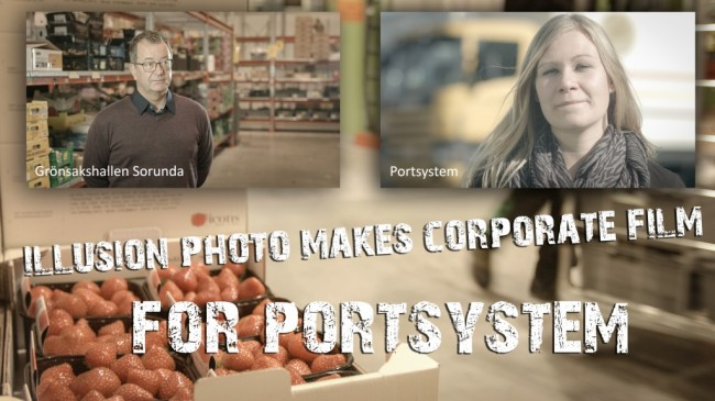 Illusion Photo makes corporate film for Portsystem